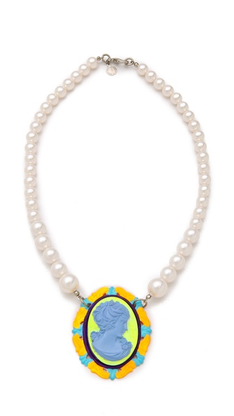 TOM BINNS Cameo Jobim Necklace