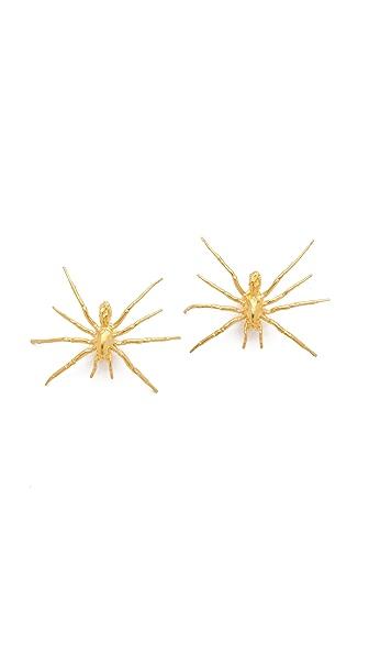 TOM BINNS Spider Earrings