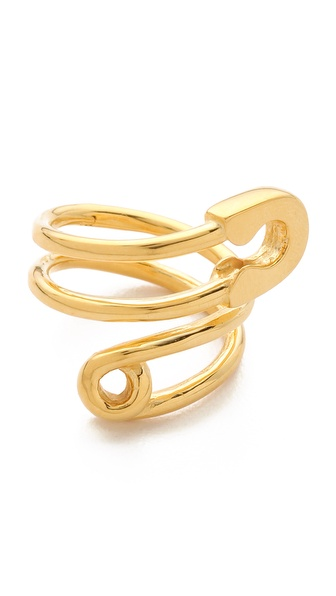 TOM BINNS Safety Pin Wrap Ring