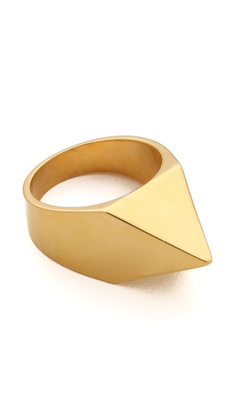 TOM BINNS Clash Studded Ring