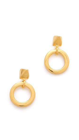 TOM BINNS Petite Clash Door Knocker Earrings