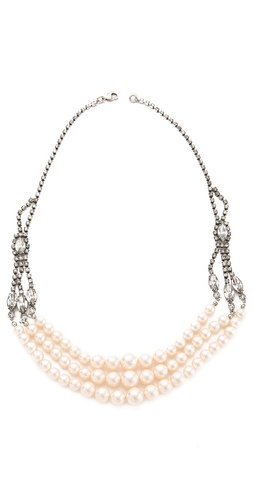 TOM BINNS Regal Multi Strand Necklace