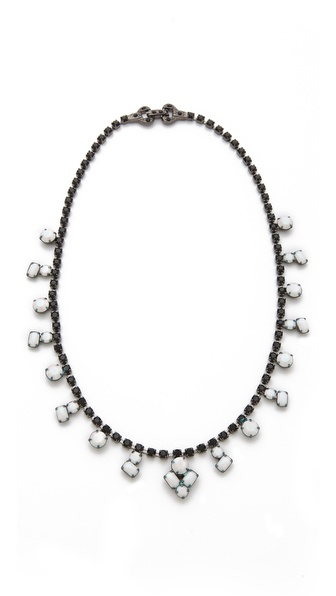TOM BINNS Veil of Shadows Station Necklace