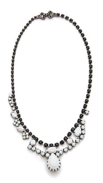 TOM BINNS Veil of Shadows Asymmetrical Necklace