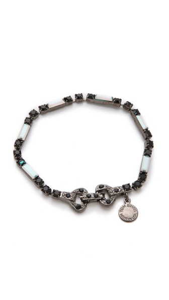TOM BINNS Veil of Shadows Baguettes Bracelet