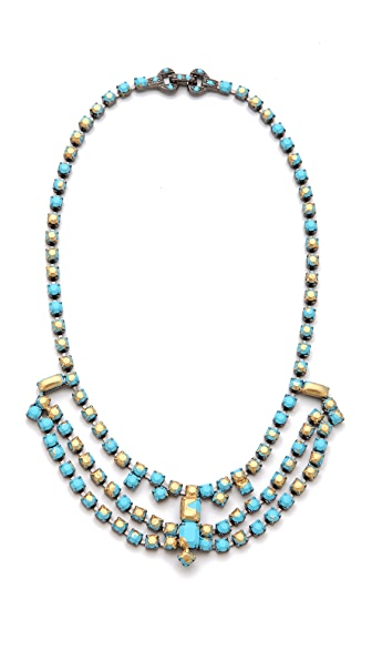 TOM BINNS Gilded Pleasure Multi Strand Necklace