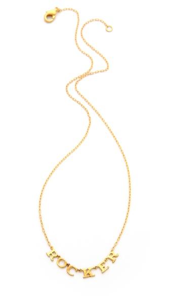 TOM BINNS Rocker Charm Necklace