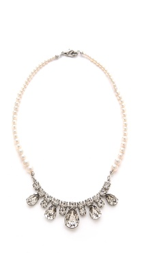 TOM BINNS Grande Dame Crystal Necklace