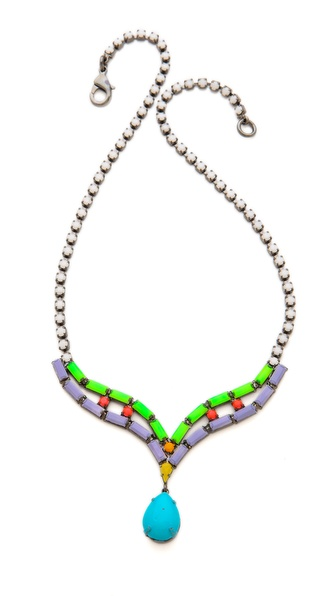 TOM BINNS Shadow Play Crystal Necklace