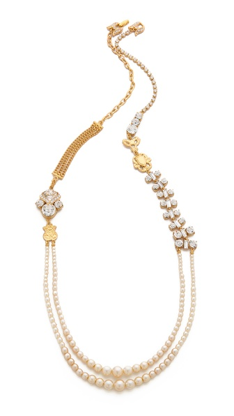 TOM BINNS Double Layer Necklace