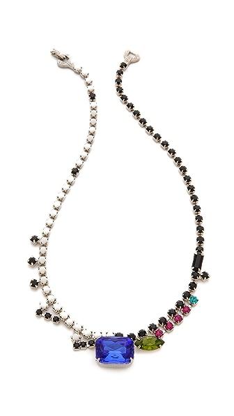 TOM BINNS Asymmetric Stone Necklace