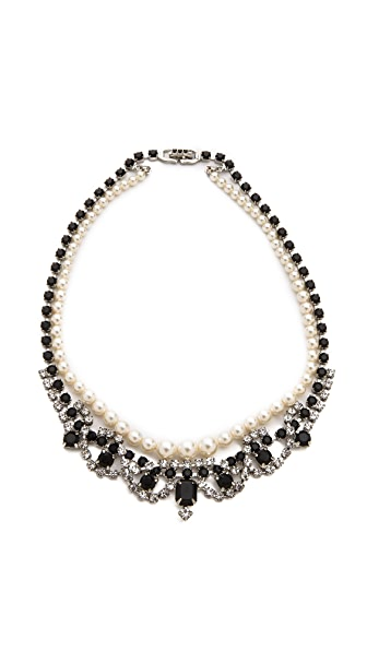 TOM BINNS Certain Ratio Noir Ornate Necklace