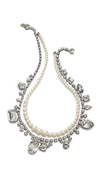 TOM BINNS Madame Dumont Inset Necklace