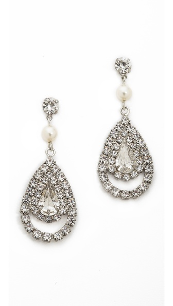 TOM BINNS Certain Ratio Teardrop Earrings