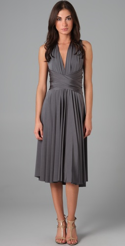 Twobirds Tea Length Convertible Dress