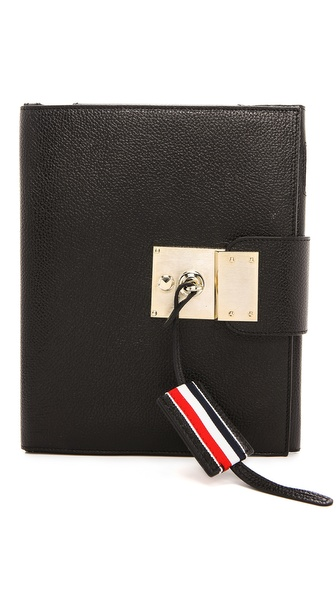 Thom Browne Pebbled Leather iPad Case