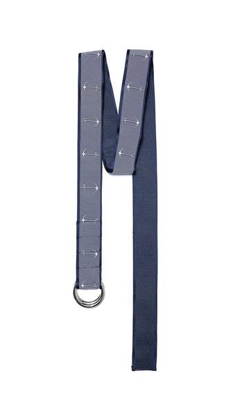 Thom Browne Anchor Ribbon Belt