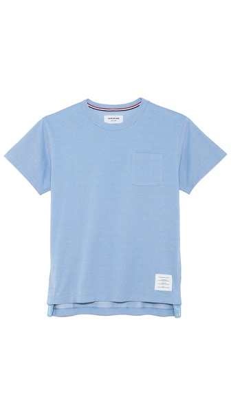 Thom Browne Oxford Pocket T-Shirt