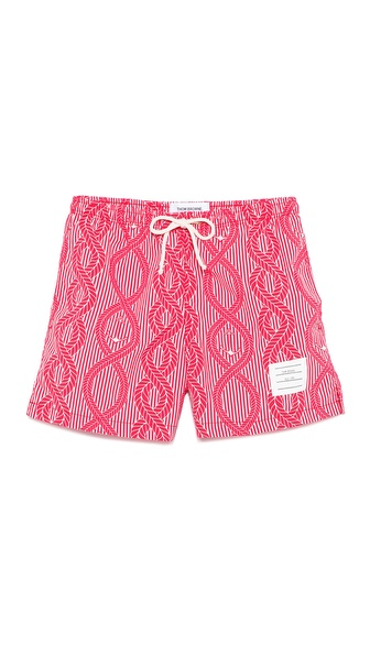 Thom Browne Rope Swim Trunks