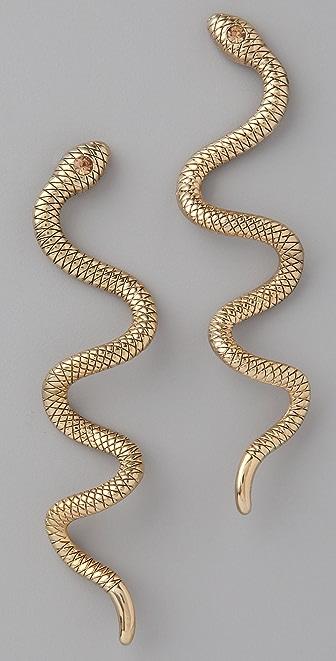 Theodora & Callum Snake Earrings