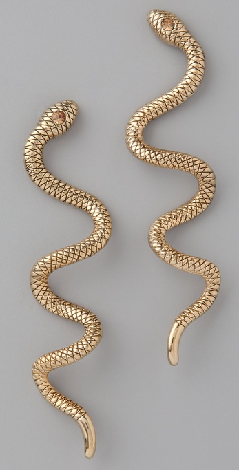 Theodora & Callum Snake Earrings