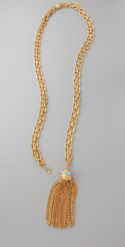 Theodora & Callum Convertible Tassel Necklace