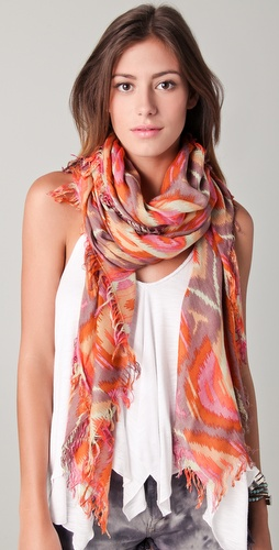 Theodora & Callum Gypsy Fringe Scarf