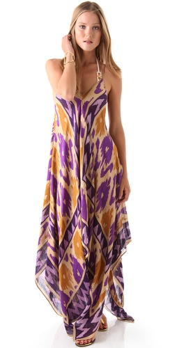 Theodora & Callum Ikat Scarf Cover Up