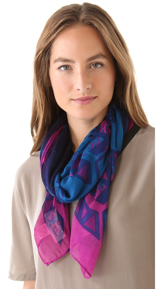 Theodora & Callum Totem Gauzy Scarf