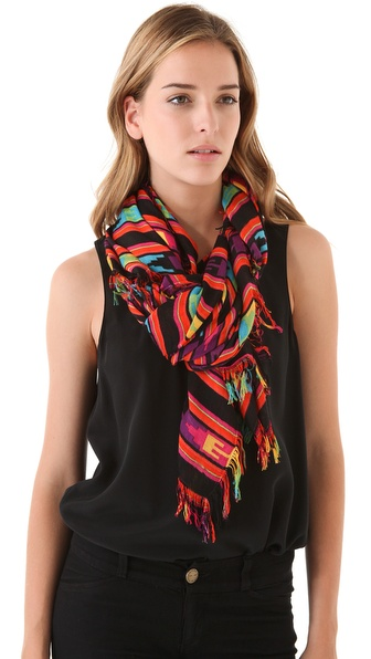 Theodora & Callum Fringe Ixtapa Scarf
