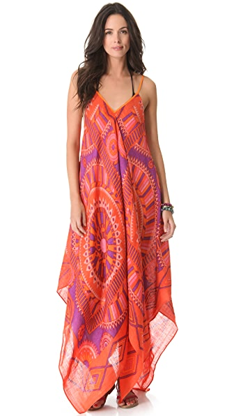 Theodora & Callum Phoenix Scarf Dress
