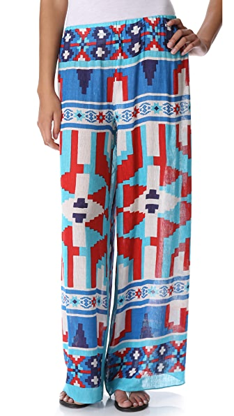 Theodora & Callum Yucatan Wide Leg Pants