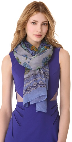 Shop Theodora & Callum Wildflower Gauzy Scarf - Theodora & Callum online - Accessories,Womens,Fashion_Accessories,Scarves, at Lilychic Australian Clothes Online Store