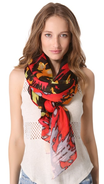 Theodora & Callum Sun Storm Gauzy Scarf