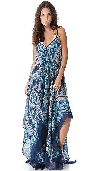 Theodora & Callum Lugano Scarf Cover Up Dress