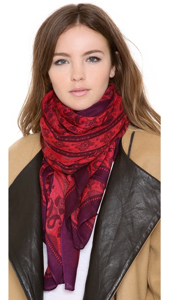 Theodora & Callum Chennai Wearable Art Scarf