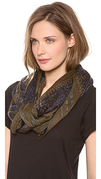 Theodora & Callum Flagstaff Wearable Art Scarf