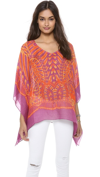 Theodora & Callum Tonga Scarf Cover Up Top
