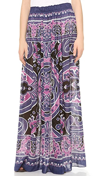 Theodora & Callum Bangalore Maxi Skirt / Tube Dress