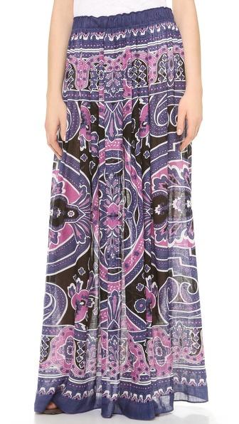 Theodora & Callum Bangalore Maxi Skirt / Tube Dress