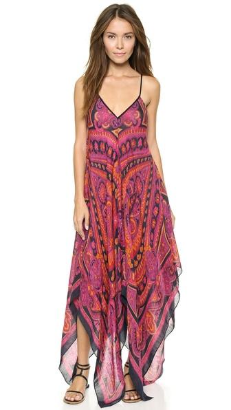 Theodora & Callum Cypress Scarf Dress