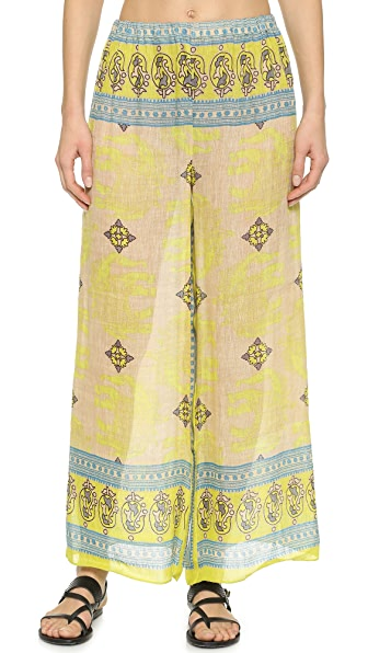 Cover Up Cover Up Mumbai Palazzo Cover Up Pants (Multicolor)