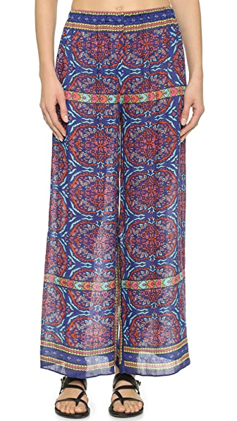 Cover Up Cover Up Ankara Palazzo Cover Up Pants (Multicolor)
