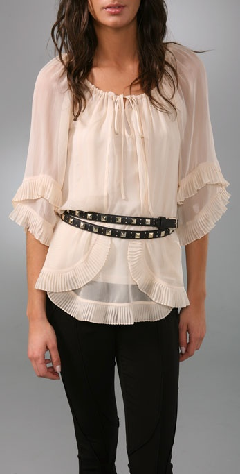 Temperley London Cirque Long Belt