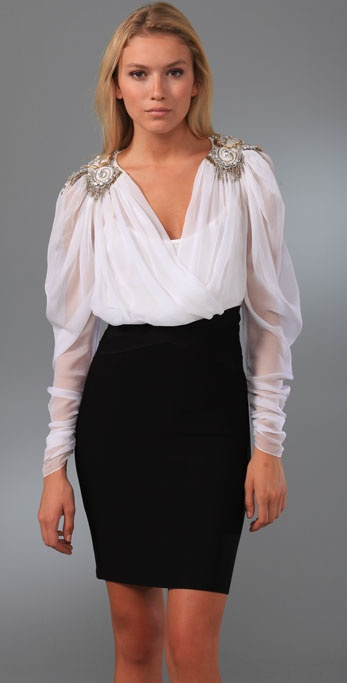 Temperley London Latifah Top