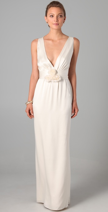 Temperley London Long Begonia Dress