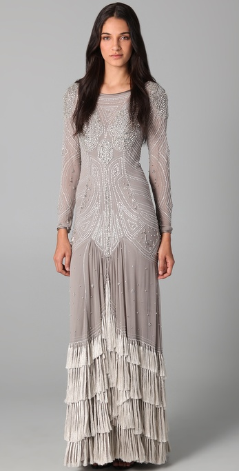 Temperley London Silvia Long Dress