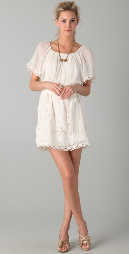 Temperley London Florelle Tunic Dress