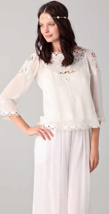 Temperley London Florelle Top