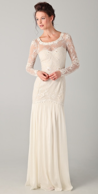 Temperley London Long Belle Dress